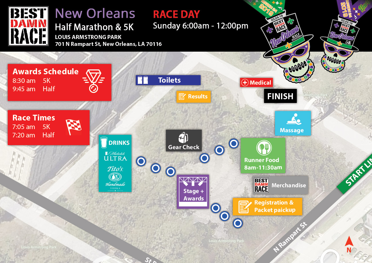 New Orleans Health & Expo Map