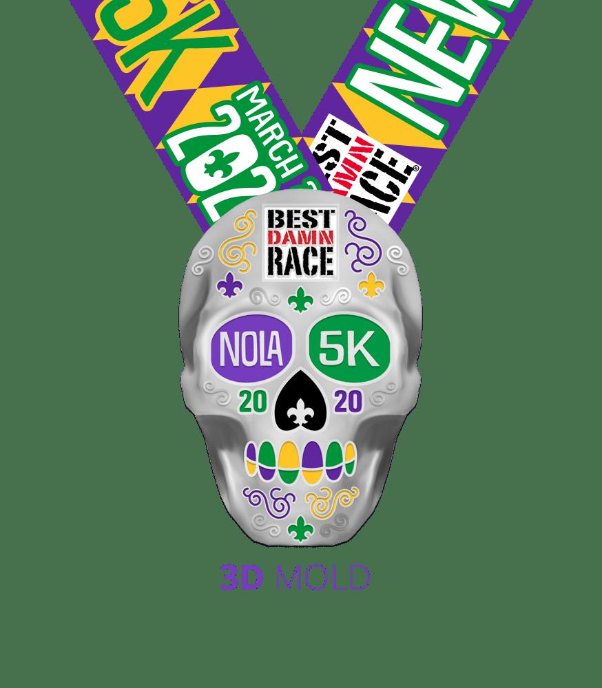 2020 5K Medal - New Orleans
