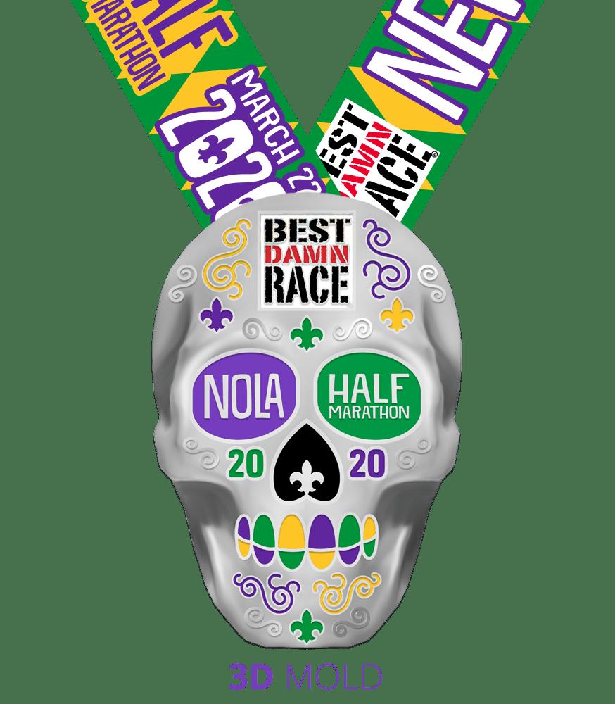 2020 Half Marathon Medal - New Orleans